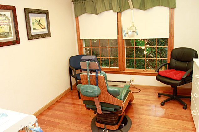 Our relaxing operatory room.