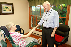 Dr. Raymond Munz's personal, friendly care