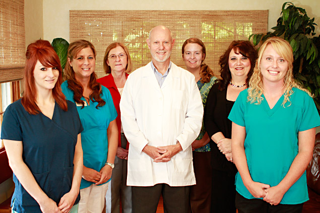 Dr. Munz and his staff
